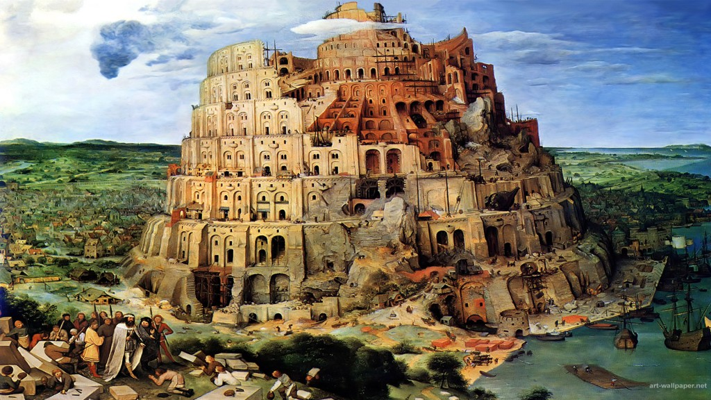 Tower Of Babel Bruegel