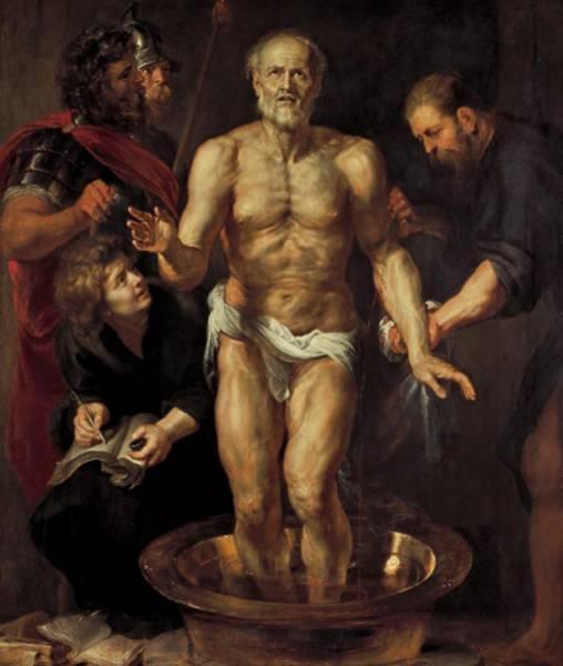 Питер Рубенс (1577-1640) «Умирающий Сенека»