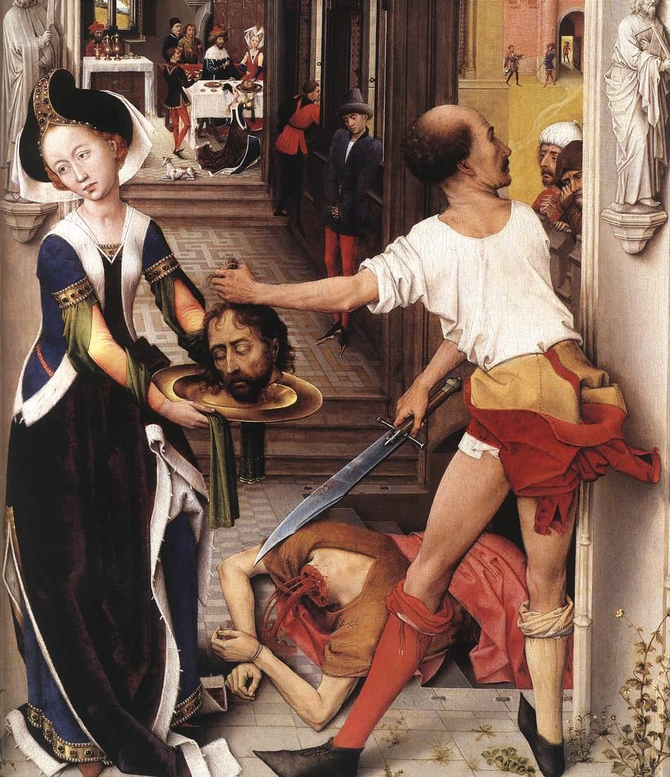 Rogier van der Weyden - St John Altarpiece 1455-60