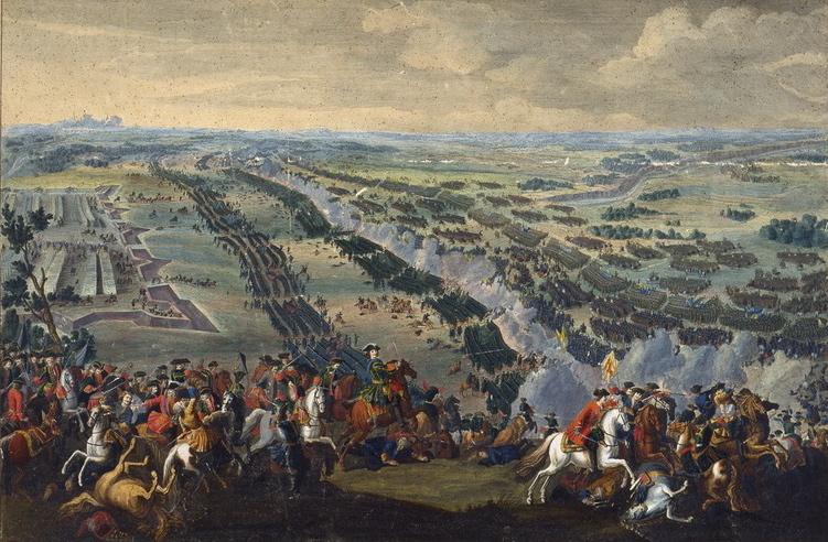 Денис Мартен «Полтавская битва» (1726)
