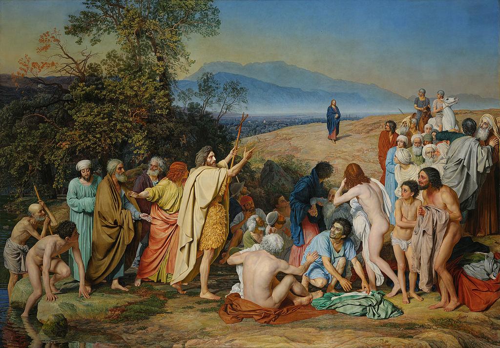 """Александр Иванов """"Явление Христа народу"""", 1837—1857"""