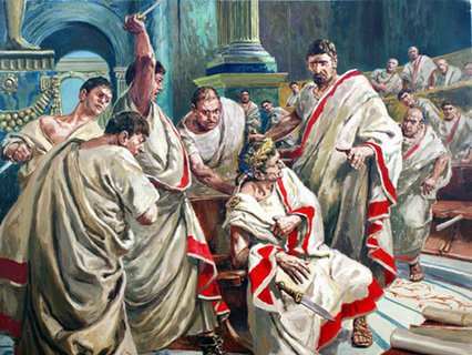 "Doughty, C.L. (1913-85) ""The death of Julius Caesar"""
