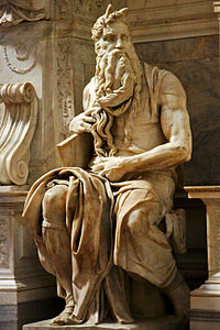 Моисей, скульптура Микеланджело