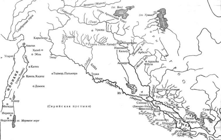 Карта эпоса