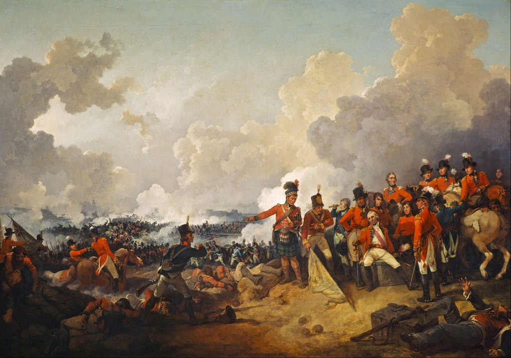Philip James de Loutherbourg - The Battle of Alexandria, 21 March 1801