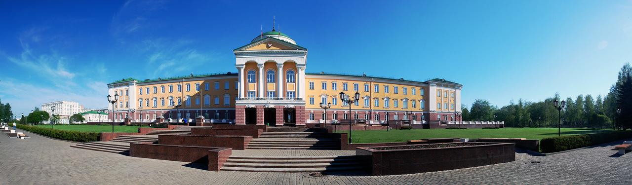 Президентский дворец в Ижевске
