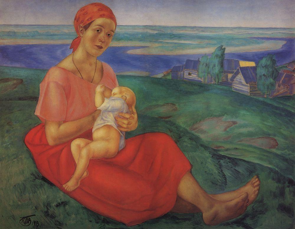Мать - Кузьма Петров-Водкин