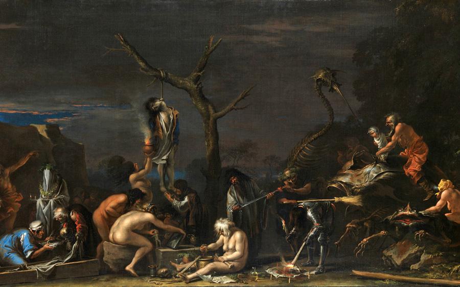 Сальватор Роза. Ведьмы и их колдовство. 1646