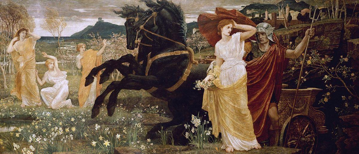 """Уолтер Крейн. """"Похищение Персефоны"""", 1877"""
