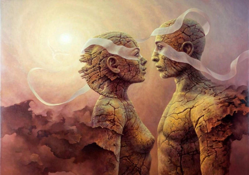 Mysterious Sublime Paintings by Tomasz Alen Kopera
